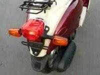 Холодный запуск Yamaha Vino 50