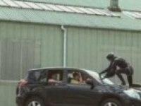 Прикольное видео с Toyota RAV4