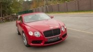 Знакомство с Bentley Continental GTC V8