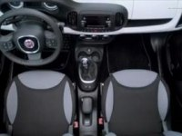 Интерьер Fiat 500L