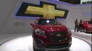 Мировая премьера Chevrolet Tracker/Trax на Парижском автомалоне.