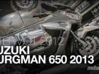 Suzuki Burgman 650 Executive (AN650A) на выставке в Кёльне
