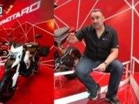 Ducati Hypermotard на выставке