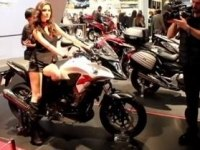 Honda CB500X на выставке
