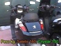 Любительское сравнение Peugeot Satelis и Peugeot Citystar