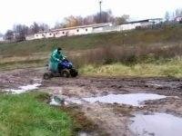 РЫСЬ 110 - испытание грязью