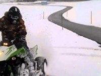 Зимний драйв на Arctic Cat DVX 300