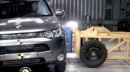 Краш-тест Mitsubishi Outlander