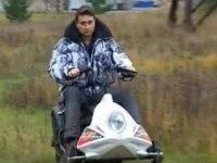 Русский обзор снегохода Рыбинка