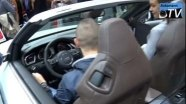 Audi RS5 Cabriolet на автосалоне в Париже