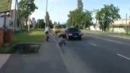 Осторожно: неумелый велосипедист