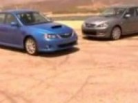 Видео тест Subaru Impreza 2008 vs Mazda3 MPS