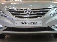 Любительское видео Hyundai Sonata