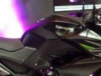 Kawasaki Z250 на выставке