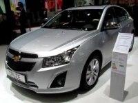 Chevrolet Cruze LTZ Hatchback на Paris Auto Show