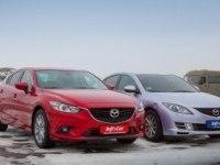 Тест-драйв Mazda6 2.0 и 2.5