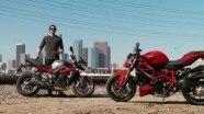 Сравнительный тест Triumph Street Triple R и Ducati Streetfighter 848
