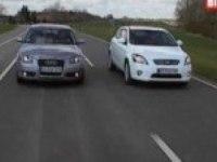 Видео тест Kia Ceed vs Audi A3