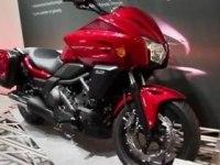 Любительское видео Honda CTX700