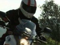 Honda CRF250M в движении