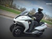 Тест Peugeot Metropolis 400
