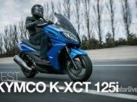 Иностранный тест Kymco K-XCT 125/300