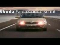 Реклама Skoda Fabia Combi Scout