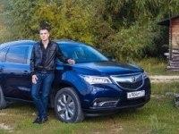 Тест официальной Acura MDX