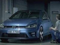 Реклама Volkswagen Golf R 3-d