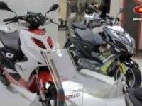 Yamaha Aerox R Naked на выставке EICMA 2012