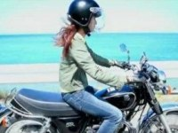 Реклама Yamaha SR400