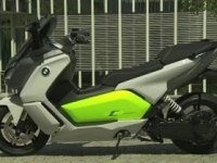 BMW C evolution в статике