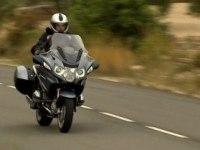 BMW R 1200 RT в движении