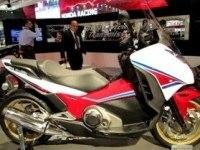 Honda Integra 750 на выставке в Милане