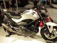 Honda NC750S на выставке в Милане
