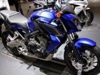 Honda CB650F в статике