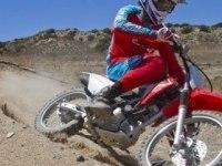 Honda CRF125F в движении и статике