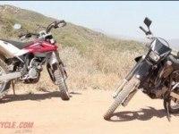 Сравнение Suzuki DR-Z400S, Husqvarna TE 250 и Yamaha WR250R