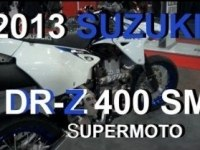 Suzuki DR-Z400SM на выставке