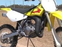 Тест Suzuki RM85L