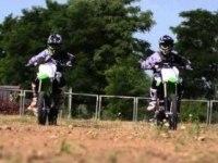 Официальное видео Kawasaki KX85 для Европы
