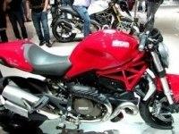 Ducati Monster 1200 на выставке в Милане