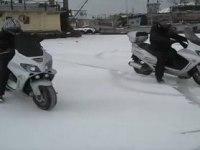 Viper Tornado на снегу