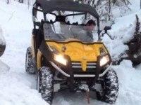 CFMOTO Z6 XT на снегу