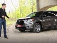 Тест-драйв Toyota Highlander 2014