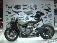 Ducati 1199 Superleggera на миланском мотосалоне 2013