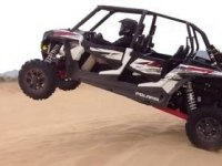 Прыжки на Polaris RZR XP 4 1000