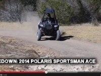 Polaris Sportsman ACE в статике и движении