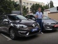 Тест Renault Megane 2014 VS. Hyundai i30