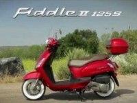 Реклама SYM Fiddle II